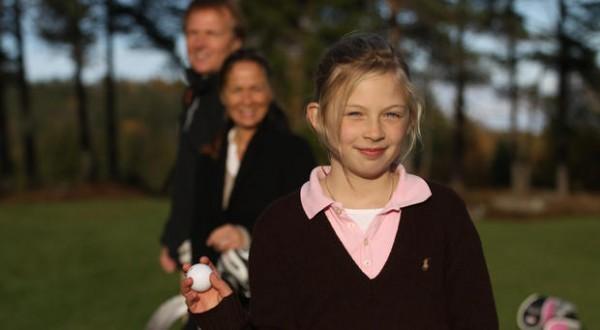 Veien til golf kurs