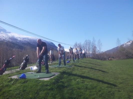golf instruksjon