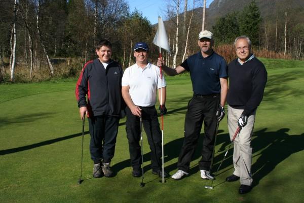 Golfavslutning 2011
