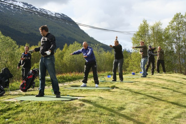 range trening