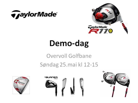 Demodag TaylorMade
