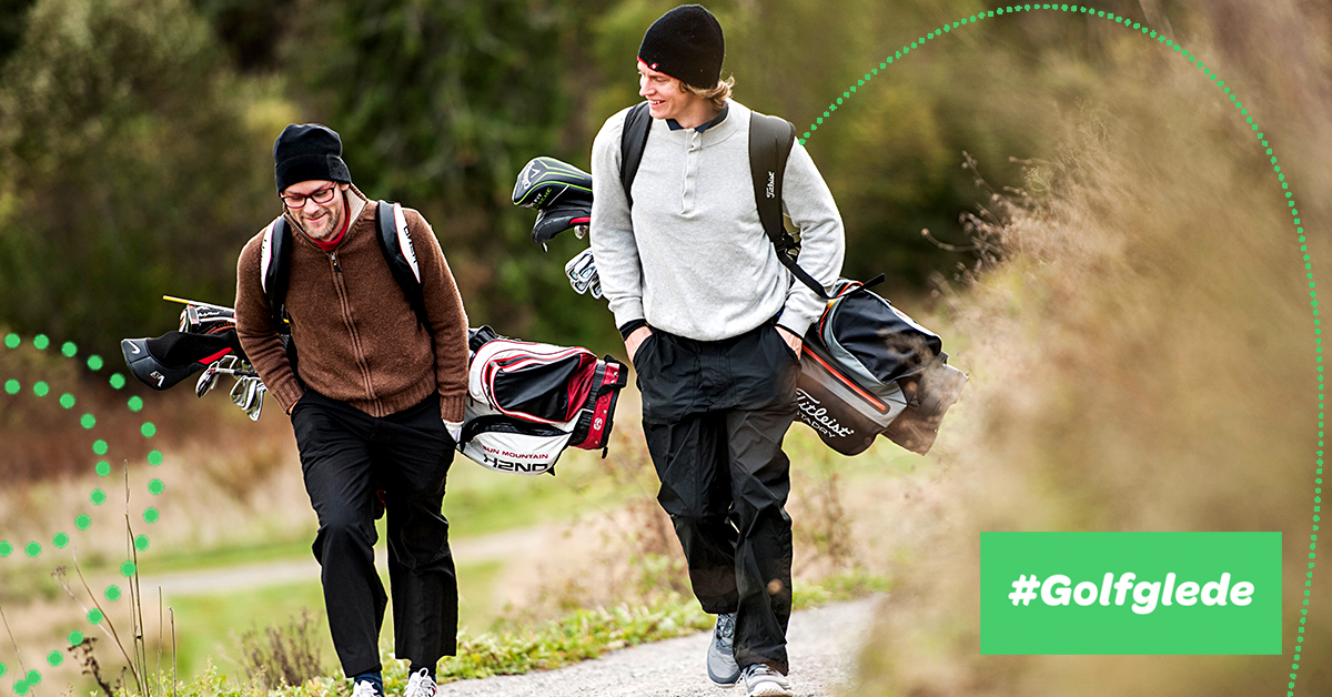 Golfbana venter på deg!